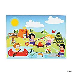 Camp Mini Sticker Scenes