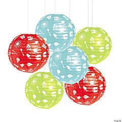 Camp Party Hanging Lanterns