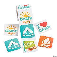 Camp Stickers