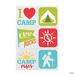 Camp Temporary Tattoos