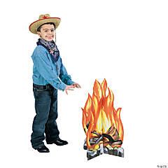 Campfire Cardboard Stand-Up