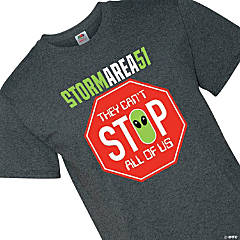 Can't Stop Us All Area 51 Adult's T-Shirt - 3XL
