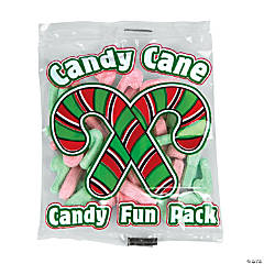 Candy Cane Candy Fun Packs