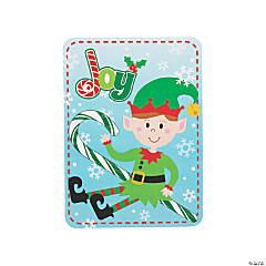 Candy Canes with Elf Cards