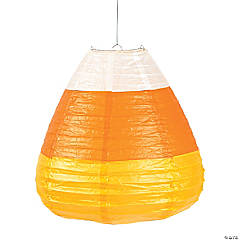 Candy Corn Hanging Paper Lanterns Halloween Decorations