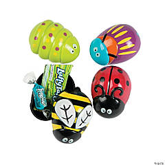 Candy-Filled Bug Easter Eggs - 12 Pc.