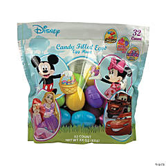 Candy-Filled Disney Favorites Plastic Easter Eggs - 32 Pc.