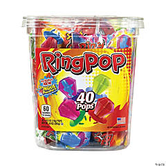 Candy Ring Pops, 40 Count