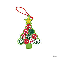 Candy Tree Ornament Craft Kit