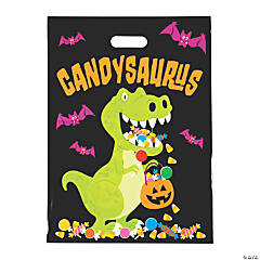 Candysaurus Trick-or-Treat Goody Bags