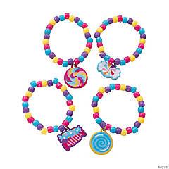 Candyworld Beaded Bracelet Craft Kit