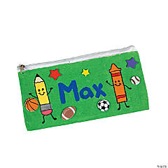 Canvas Pencil Cases