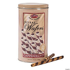 Cappucino Spiral Wafers
