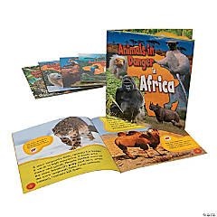 Capstone® Animals in Danger Books - Set of 6