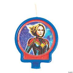 Captain Marvel™ Birthday Candle