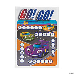 Car Coloring & Activity Sheets