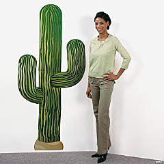 Card Stock Jointed Cactus Wall Hanging
