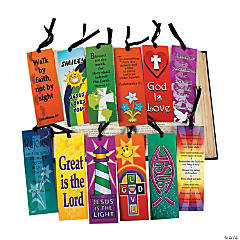 Card Stock Mega Religious Bookmark Assortment