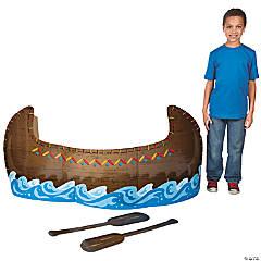 Cardboard 3D Canoe Stand-Up