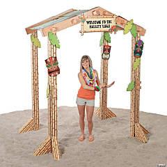 Cardboard 3D Tiki Hut
