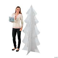 Cardboard 3D Winter Tree Stand-Up