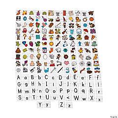 Cardboard Alphabet Linking Game