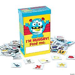 Cardboard Alphabet Monster Game