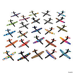 Cardboard And Plastic Flying Jet Assortment
