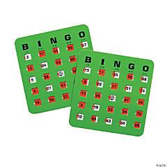 Cardboard Automatic Bingo Cards