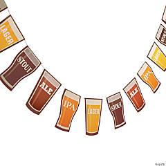 Cardboard Beer Garland
