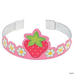 Cardboard Berry 1st Birthday Tiaras