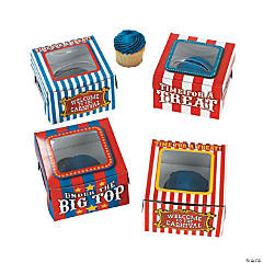 Cardboard Big Top Cupcake Boxes
