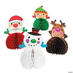 Cardboard Cheery Christmas Centerpieces