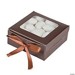 Cardboard Chocolate Favor Shadow Boxes