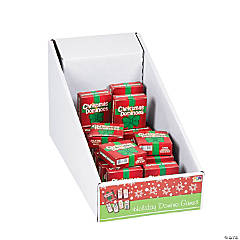 Cardboard Christmas Domino Games PDQ
