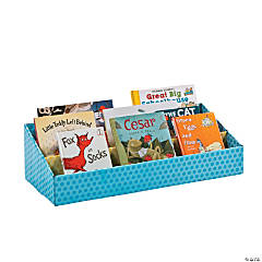Cardboard Classroom Book Feature Shelf