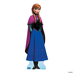 Cardboard Disney Frozen Anna Stand-Up