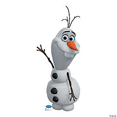 Cardboard Disney Frozen Olaf Stand-Up