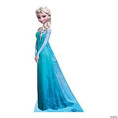 Cardboard Disney Frozen Snow Queen Elsa Stand-Up