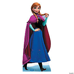 Cardboard Disney's Frozen Anna Deluxe Stand-Up