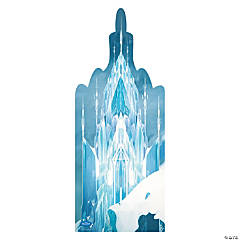 Cardboard Disney's Frozen Ice Castle Stand-Up