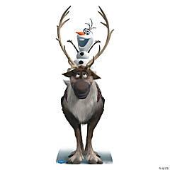 Cardboard Disney's Frozen Sven & Olaf Stand-Up