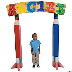 Cardboard Elementary Grad Archway Stand-Up