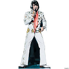Cardboard Elvis Presley - White Jumpsuit Stand-Up