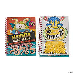 Cardboard Flip & Draw Monster Activity Books