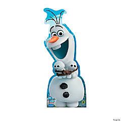 Cardboard Frozen Fever® Olaf Hugging Stand-Up