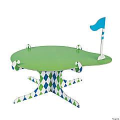 Cardboard Golf Par-Tee Cake Stand