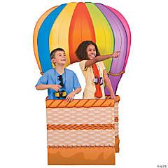 Cardboard Hot Air Balloon 3D Stand-Up