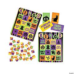 Cardboard Iconic Halloween Bingo Set