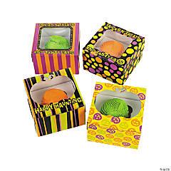 Cardboard Iconic Halloween Cupcake Boxes